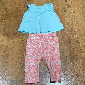 Baby Gap Girls 3-6 Months Outfit